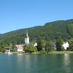 View of Ossiach from boat