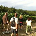 wine trek with Maurizio