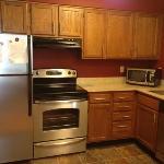 kitchen in queen studio