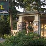 Front of Timbers Motel