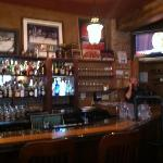the bar with 12 beers on Tap