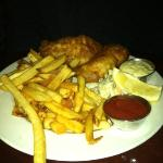 fish (Haddock) and chips