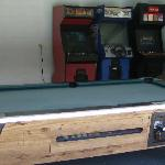 Game room and video machines