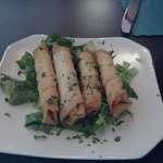 Sigara Boregi (fried Filo Dough Stuffed w/ Feta Cheese and Fresh Parsley
