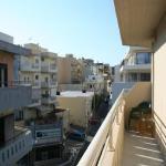vue depuis le balcon de notre chambre