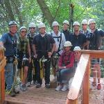 CITI PRIVATE BANK TEAM OUTING AT CANOPY TOURS NW