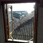 View out the en-suite bathroom window