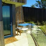 Cliff House hot tub