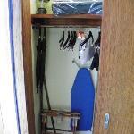 Cliff House closet