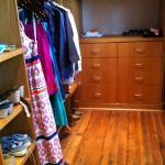Sparrow East walk-in closet