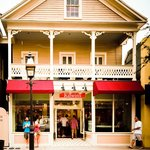 Gorgeous store front on Duval Street in Key West, FL