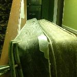 Mattresses in the hall all week....see other pic with closer view