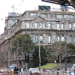 the hotel, view from Southern Cross Station