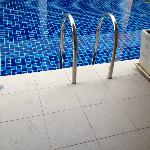 Pool access direct from room
