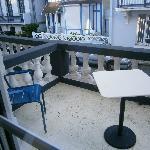 La terrasse de la chambre Cosy