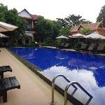 The Main pool in the hotel