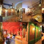 Interiér restaurace ČERNÝ OREL