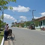 Main street in Viñales.