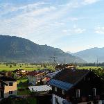 Balcony - overlooking towards Zell am See