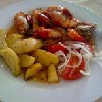 My dish- Cossa Cossa à l'ail