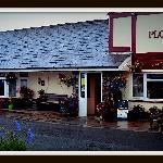 The Ploughboy Inn entrance
