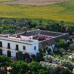 Hacienda aerial photo