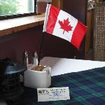 My table on Canada Day.