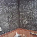 Chalk Walls for bathroom poets