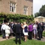 Our guests enjoying the grounds