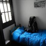 O quarto onde dormi muito bem durante minha passagem por Montevideo