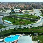 13.kattan Konya manzarası