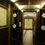 Elegantly functional elevator.