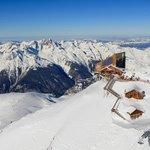 Alpe d'Huez grand domaine Ski, vue sur 1/5ème du territoire...