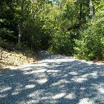 Gravel Driveway to Property