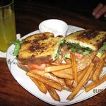 BLAT - Bacon, Lettuce, Avocado, Tomato Sandwich and Fries