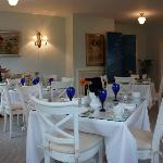 Dining room at the inn.