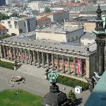 Pergamon Museum from top of Berliner Dom (a couple of hundred steps to climb!)