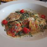 Lobster Ravioli in Sage Butter Sauce
