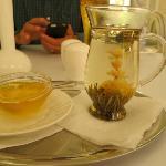 Harmony tea at the restaurant in hotel