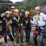 ziplinging at Tsitsikama Fall