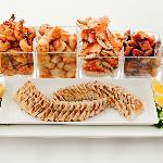 Premium Seafood platter with Oceanwise BC Albacore Tuna
