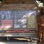 Sign to Logging Museum