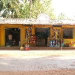 Hardware shop at Morjim