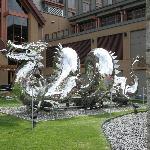 Asian Influence Sculpture