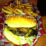 Jalapeño Bacon Cheeseburger , Haley's, Friday Harbor, WA