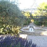 Jardin face appartement marocain