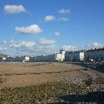 Seafront hotels overlooking the beach