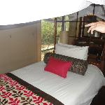 very firm beds - you need this after your safari massage