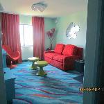 Finding Nemo suite, living area