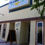 Restaurant entrance to this lovely family owned establishment
